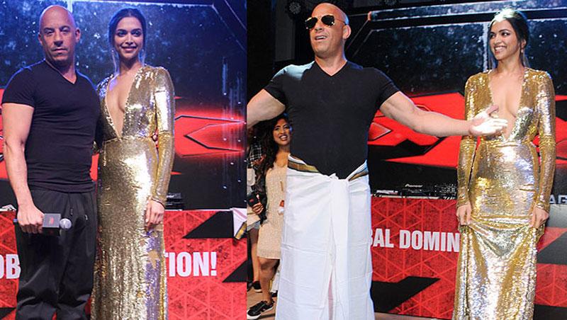 Oops! Vin Diesel Says Ranveer Is Deepika's 'Boyfriend'