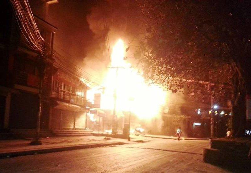 Fire guts Tri Star restaurant in Pokhara