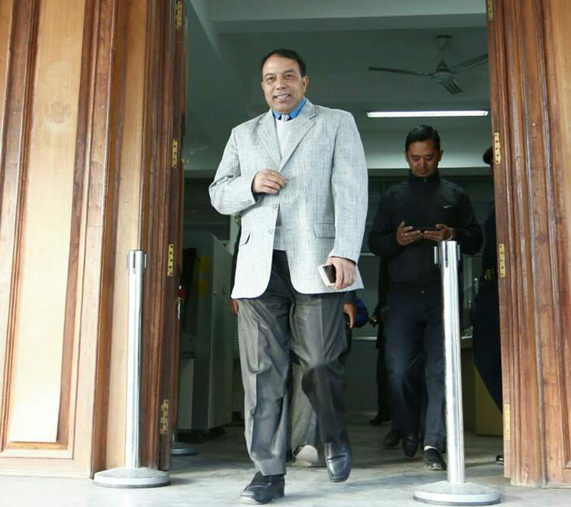 Govt 'decides' to sack NRA chief Gyewali