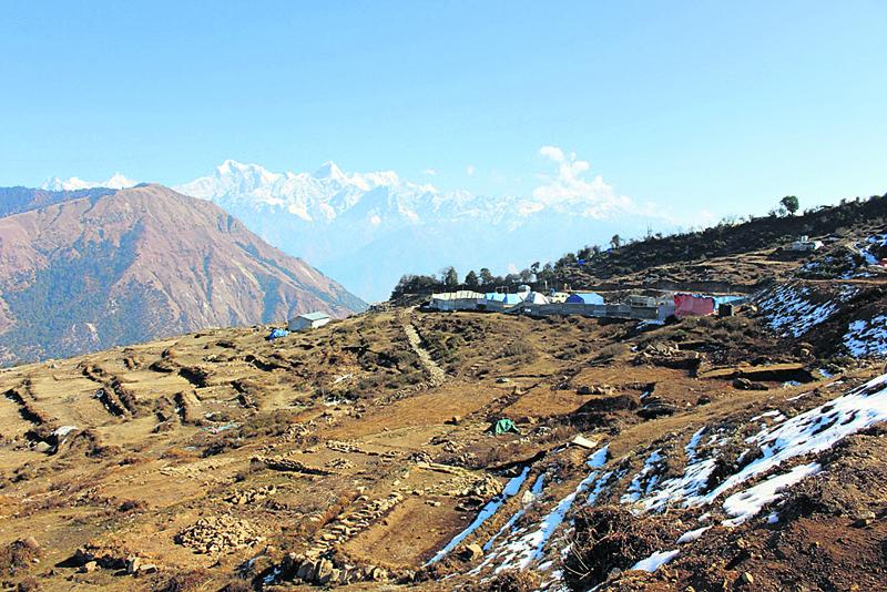 Laprak quake victims await NRN to deliver houses