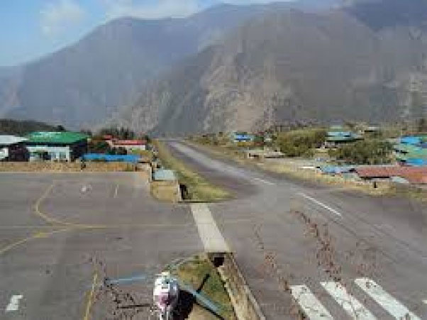 Absence of flight announcement facility at Lukla airport creating hassle for passengers