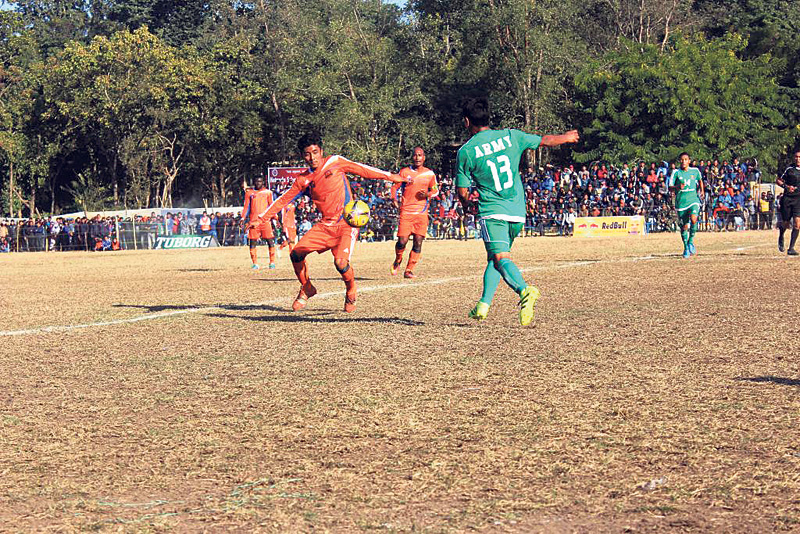 Army, Manang fix summit clash in Hetauda