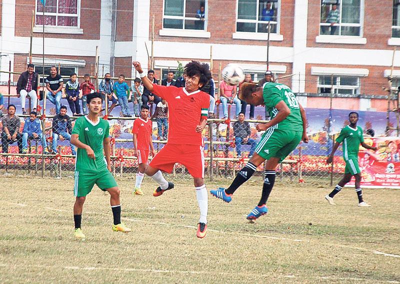 Rupandehi advances into semifinal in Jhapa