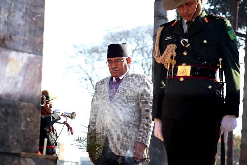 PM lays wreath at Martyrs' Memorial Park