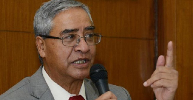 All should be taken on board for constitution implementation: NC president Deuba