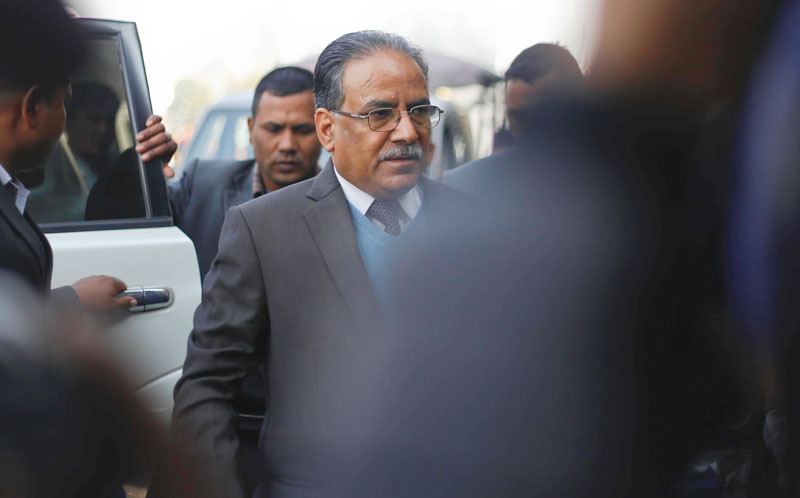 Dahal spills the beans on changing govt!