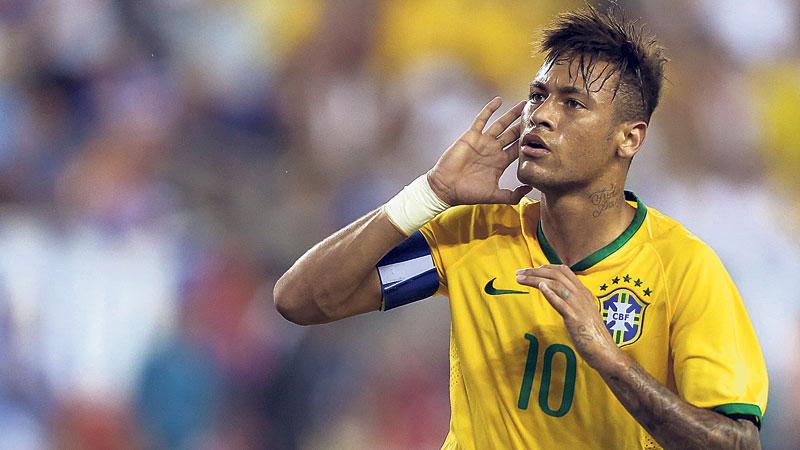 All eyes on Neymar at men's Olympic