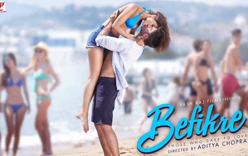 'Befikre': Ranveer, Vaani's kissing spree continues