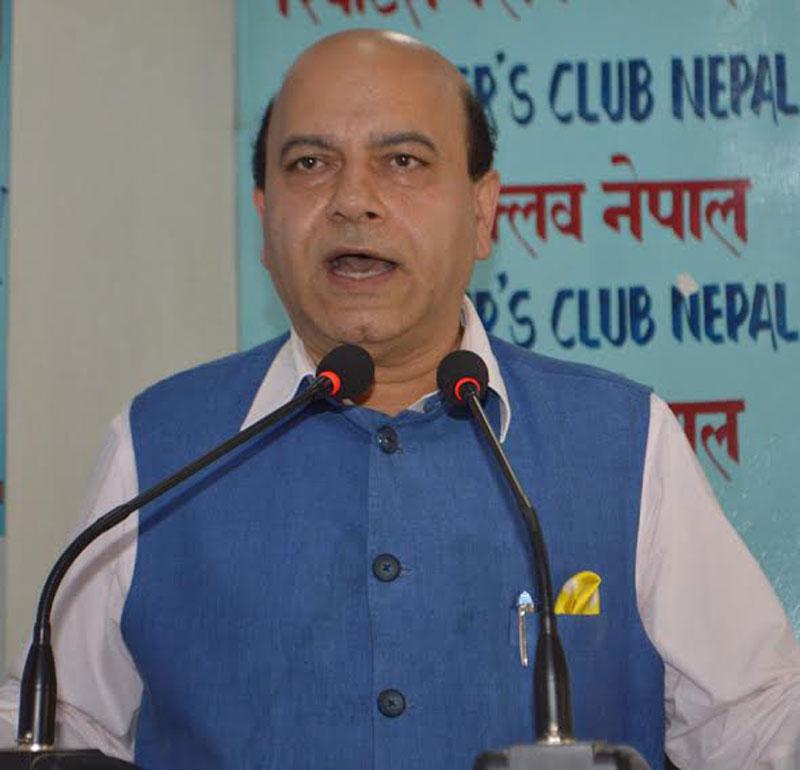 Key to Nepal's political deadlock is in Nepal: BJP leader Jolly