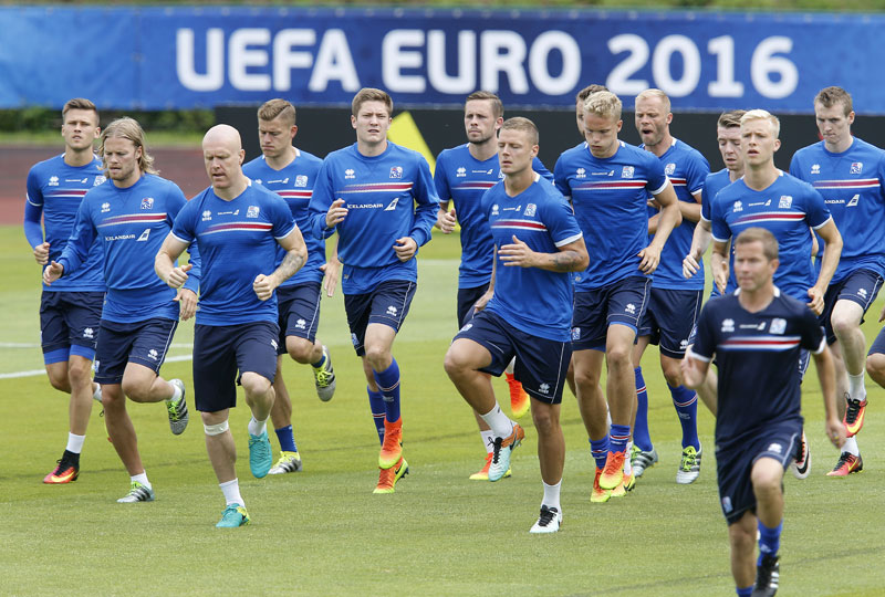 Iceland's football style not so unfamiliar to Nepal