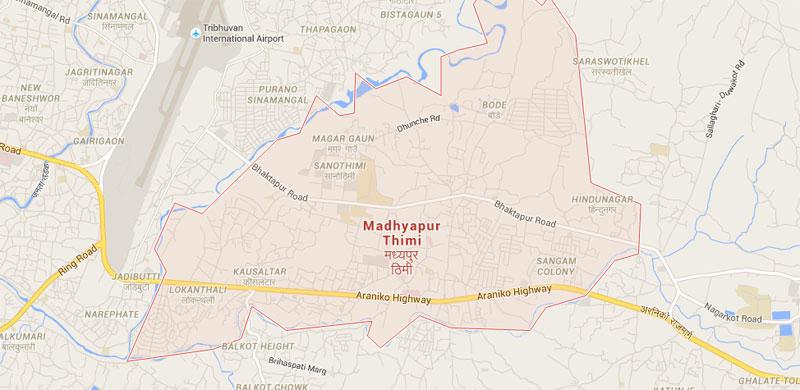 Pedestrian killed in Bhaktapur road accident