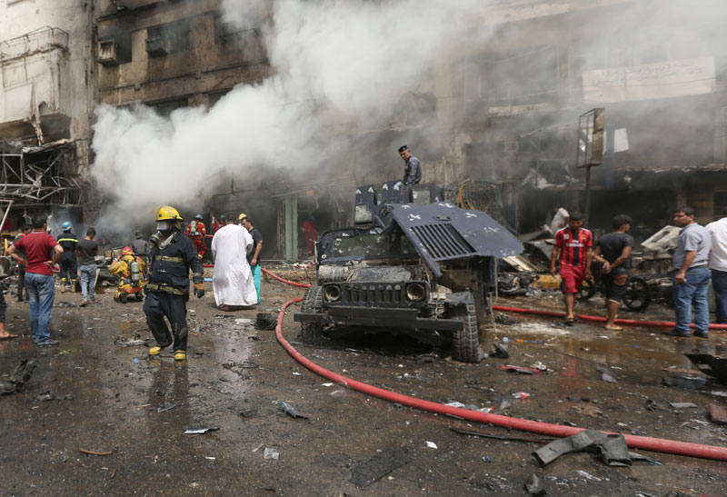 Iraqi officials: 83 people killed in 2 bombings in Baghdad