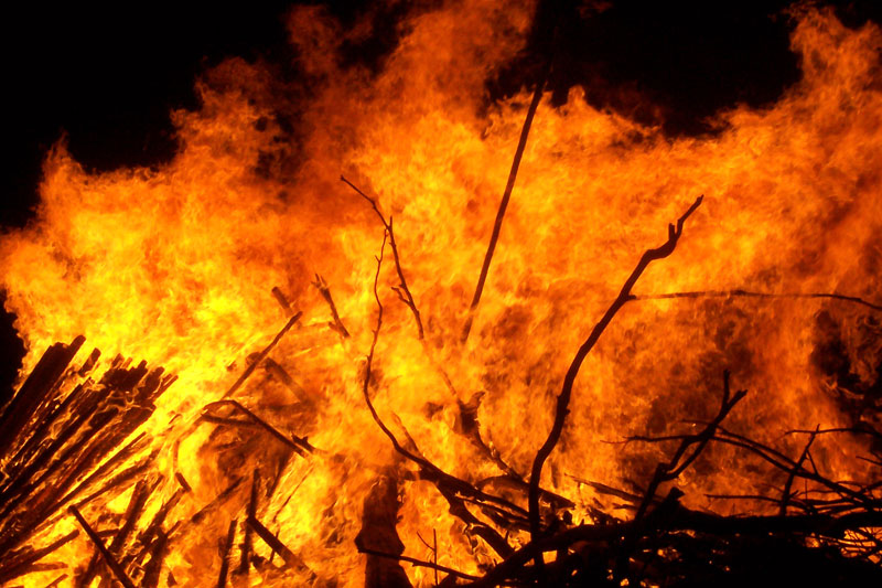 Fire guts property worth Rs 2 m