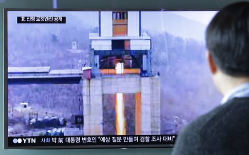 North Korea tests newly developed high-thrust rocket engine