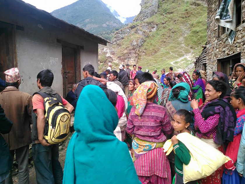 Rice depot in Jajarkot runs out of stock in midst of Dashain