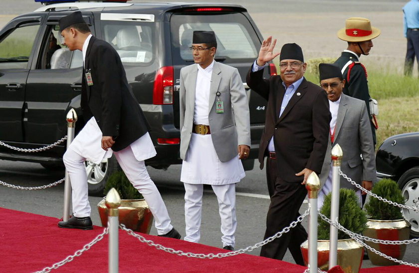 India, China positive on trilateral partnership: PM Dahal