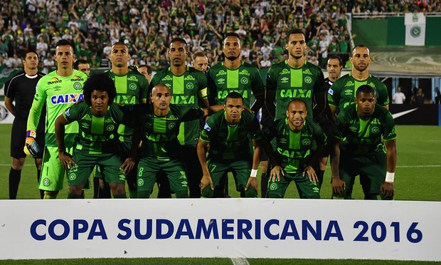 Plane carrying Brazil's Chapecoense football team crashes in Colombia, 76 dead