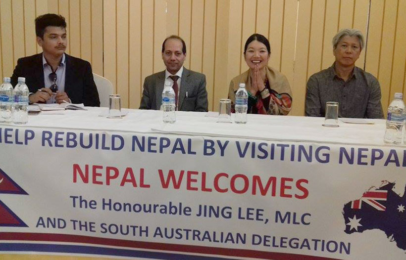 Aussie delegation terms Nepal a safe tourist destination