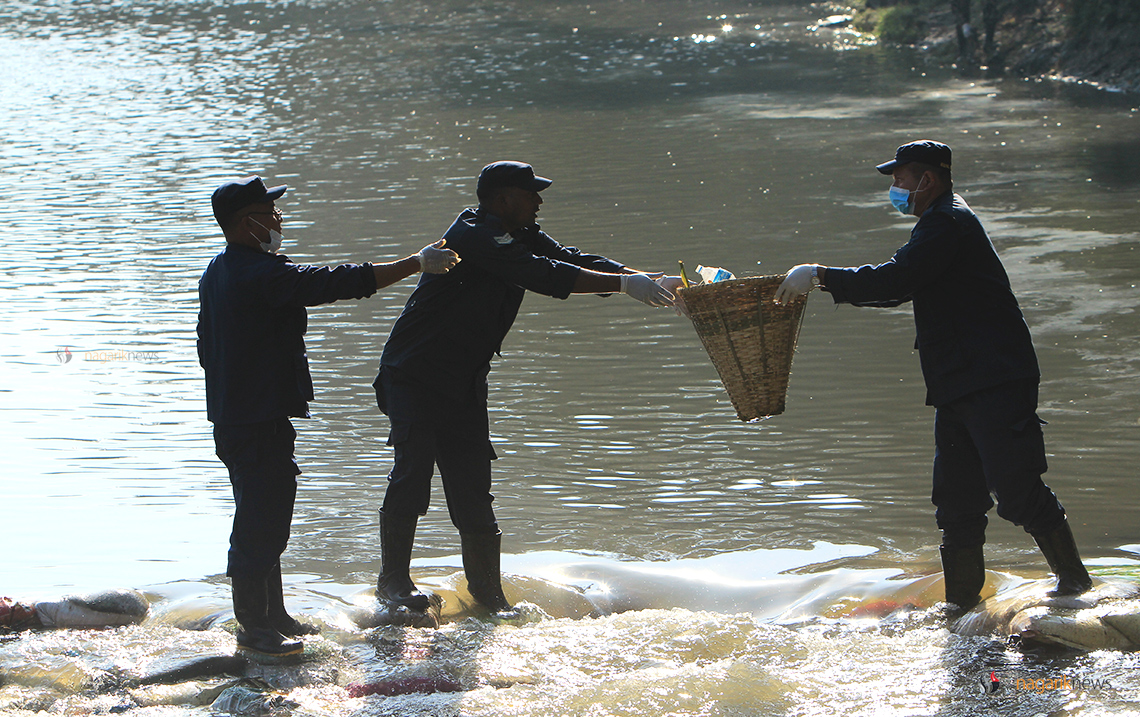 Over 38 metric tonnes of garbage collected from major rivers in Valley