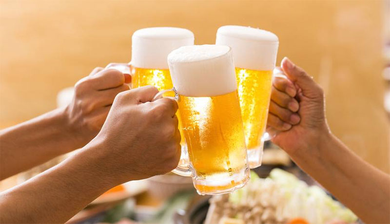 'A pint of beer a day keeps doctors away'
