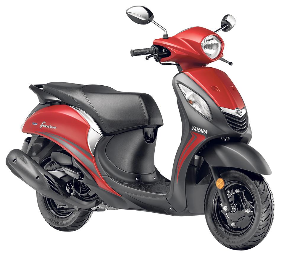 Yamaha introduces Fascino scooter
