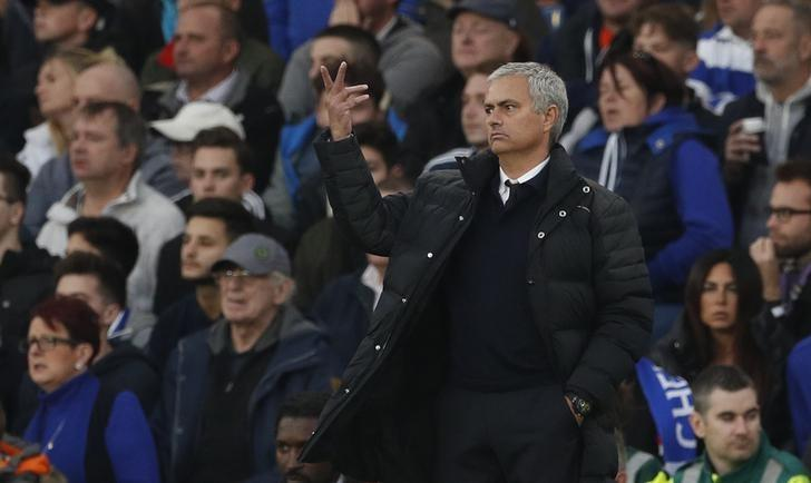 Mourinho charged over referee comments