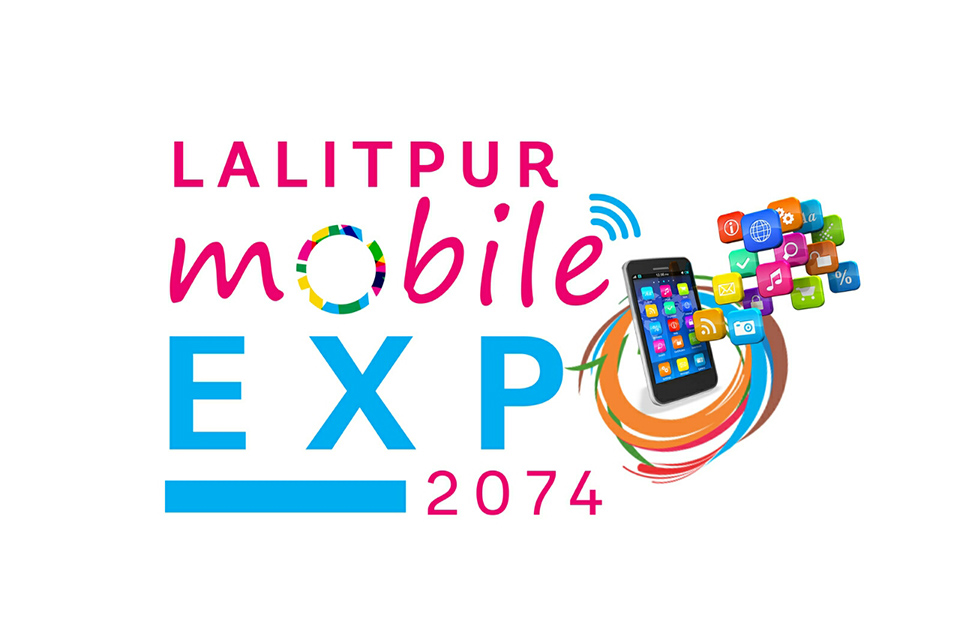 Mobile Expo underway in Lalitpur Mobile Complex