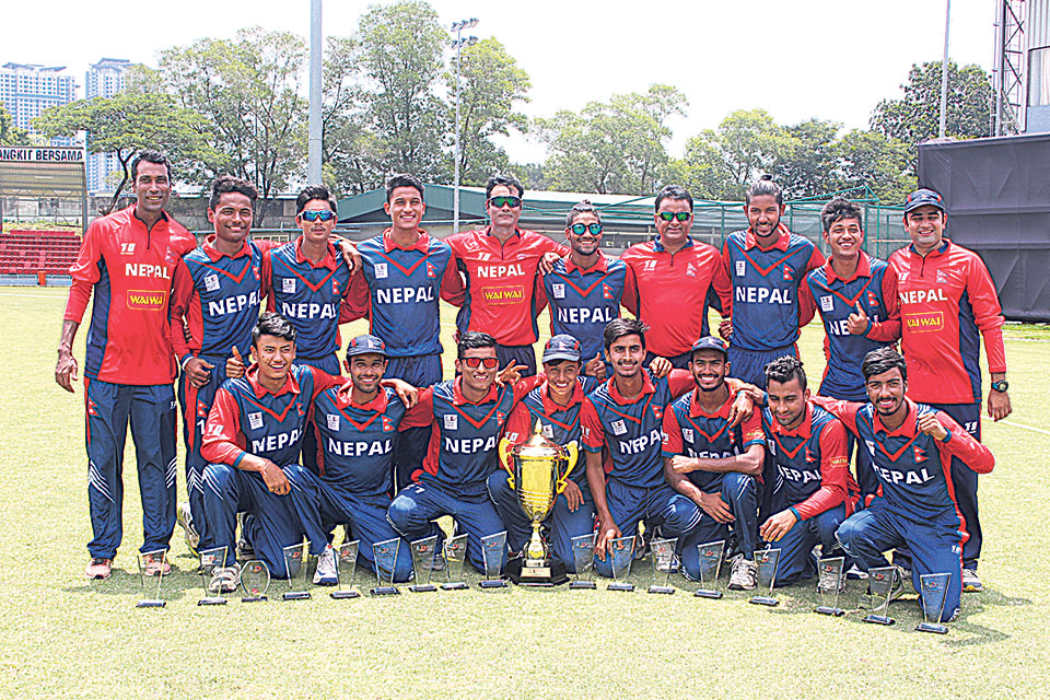 Nepal qualifies for ACC U-19 Asia Cup