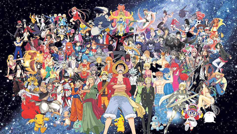Exelwallz Anime Wall World: The World Of Anime