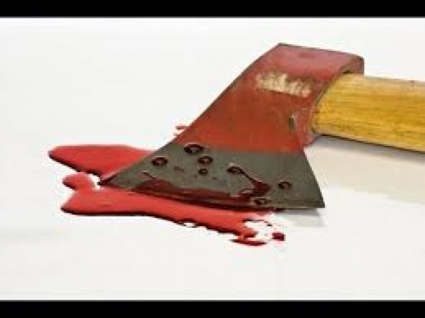 Woman axes hubby to death