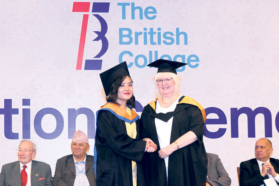 British College bids adieu to third batch of graduates