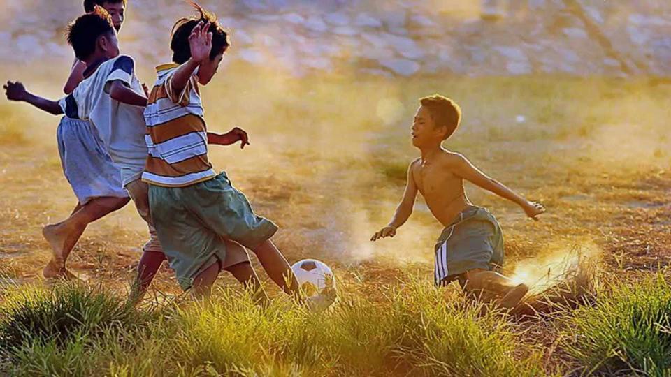 Reminiscence of Innocent Childhood Days