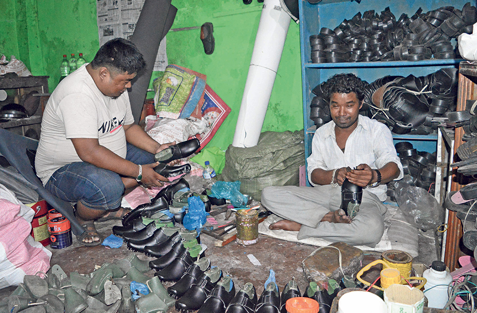 Gurung breaks with tradition to make shoes