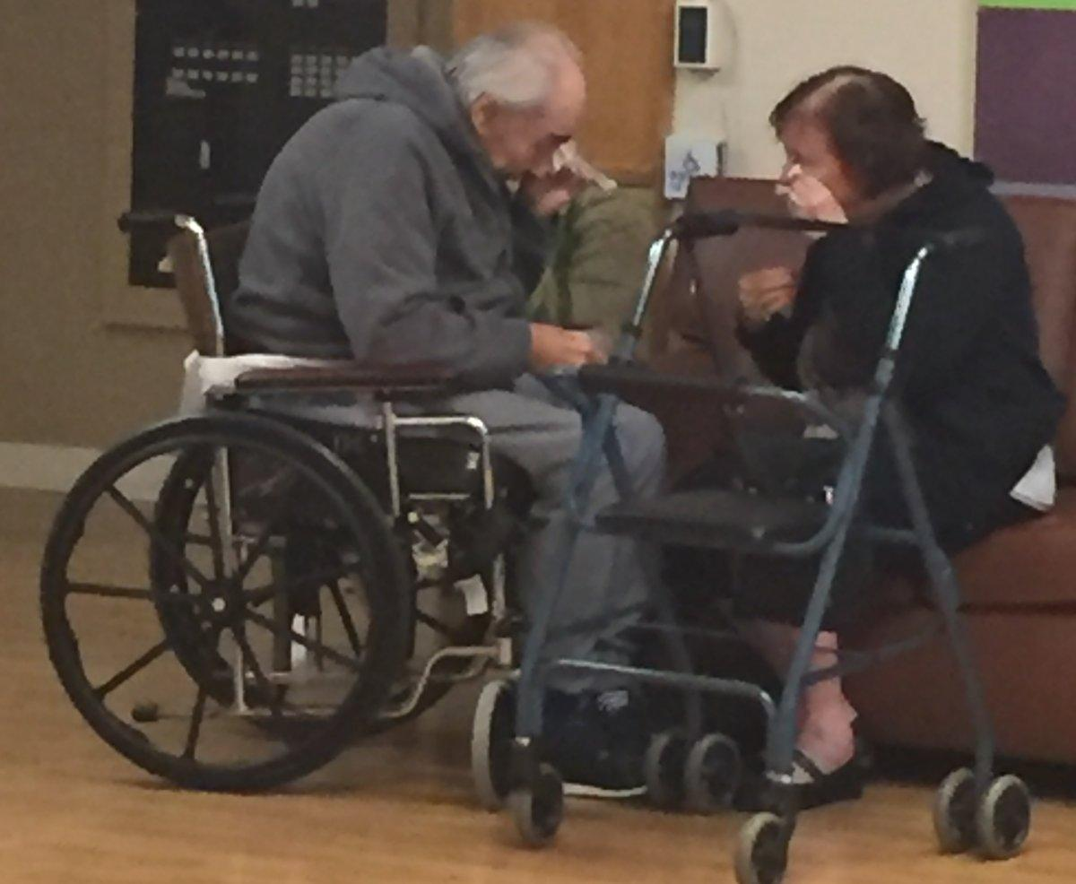 Elderly Canadian couple reunited after photo of separation goes viral