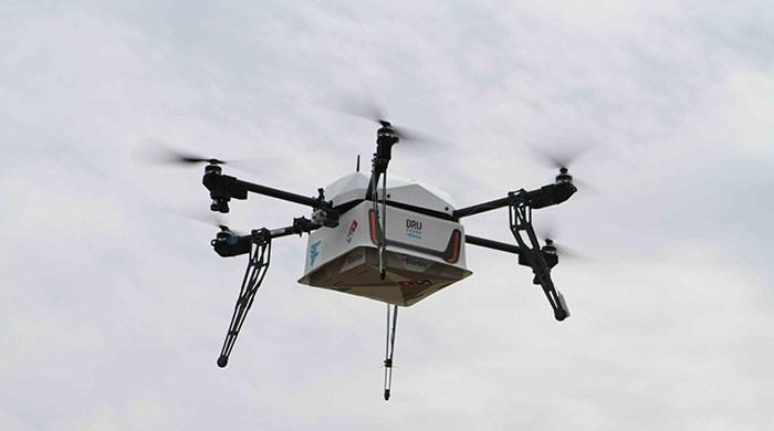 Domino's delivers its first pizza using a drone