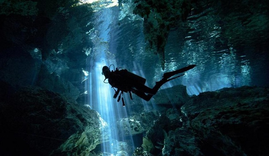 'World's deepest flooded cave' discovered in Czech Republic