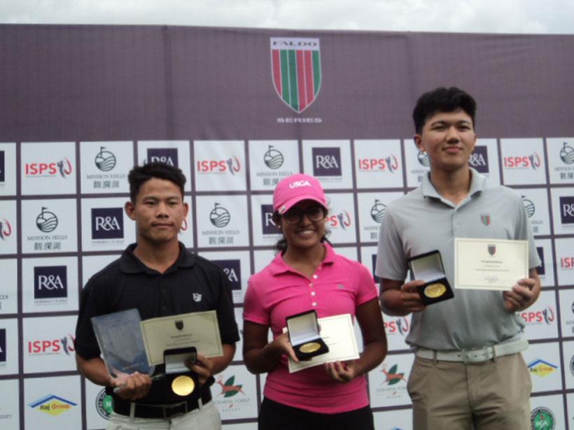 Sukra wins Faldo Series