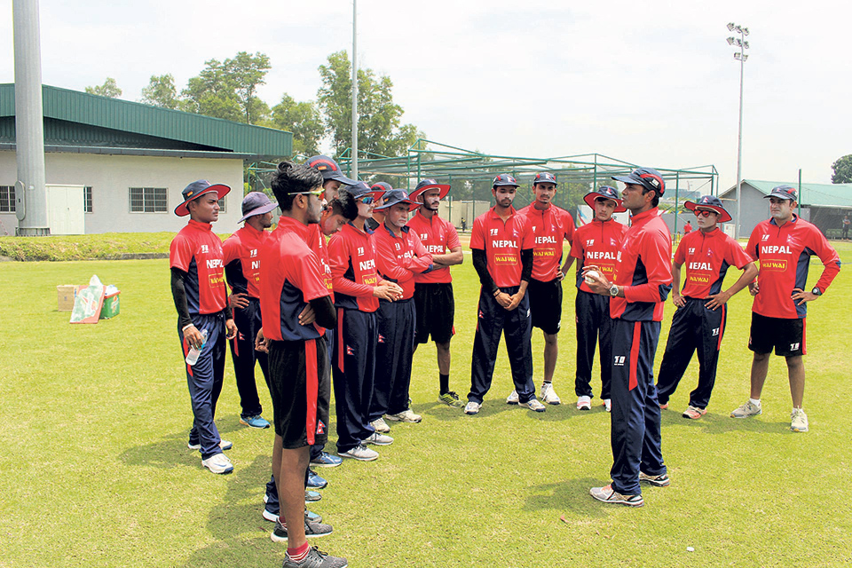 Nepal takes on Thailand in ACC U-19 cricket tournament