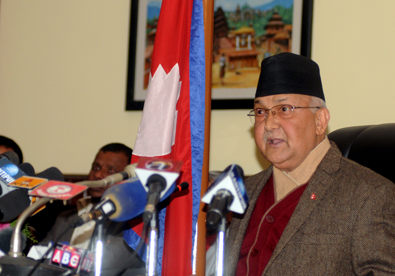 Impeachment will be endorsed at any cost: Oli
