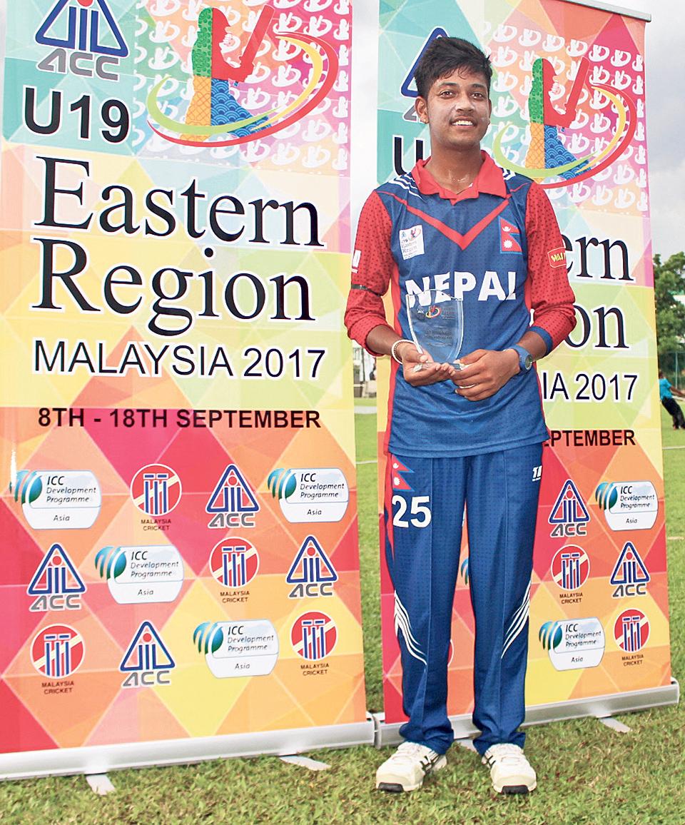 Nepal off to winning start