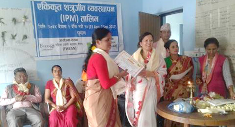Agro-training transferring lives of rural women