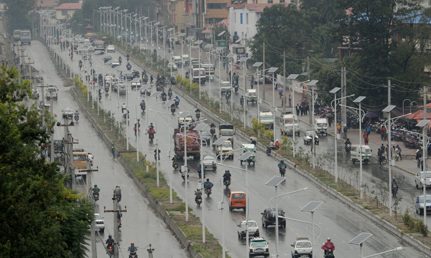 KMC set to install 1,085 solar street lights in Kathmandu Valley