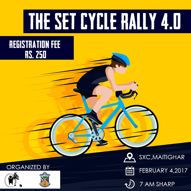 Cycle rally to support surgery of a child