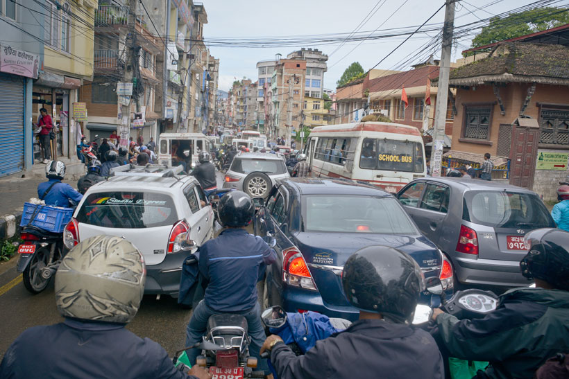 Traffic snarls caused by VVIP movements now routine
