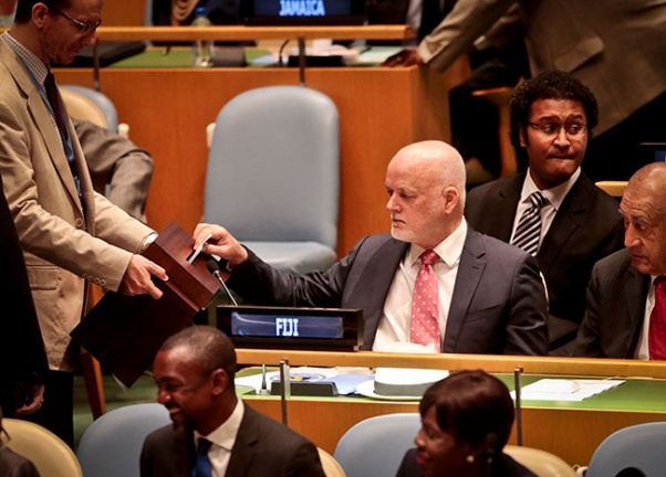 UN assembly elects Israel as committee chair for first time