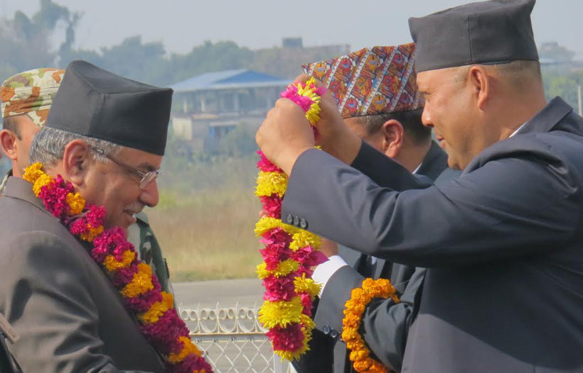 No agreement on local polls under existing structures: PM Dahal