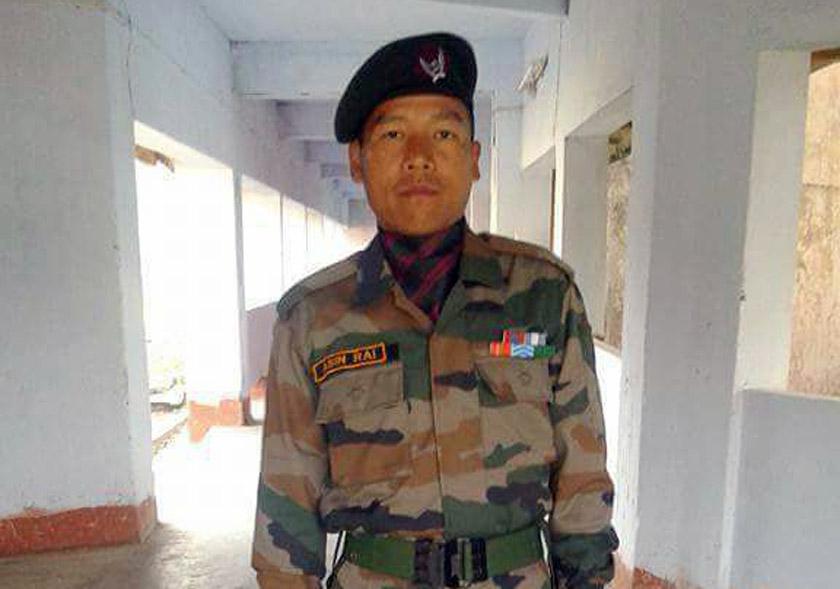 Village in grief as Gurkha soldier dies in India