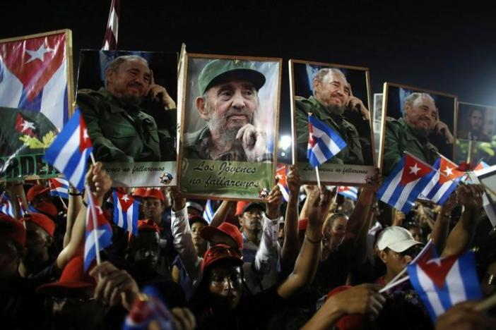 Castro to be laid to rest next to Cuban independence hero Marti