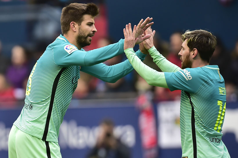 Messi scores brace as Barcelona ends run of draws in Spain