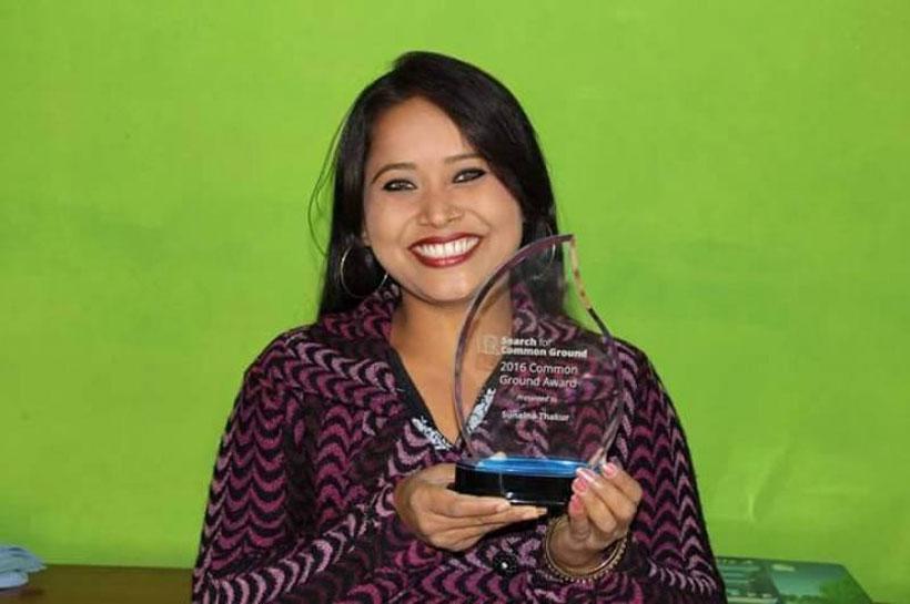 Sunaina bags int'l award for Mithila Art